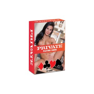 PRIVATE Playing Cards 1 pcs Multicolor