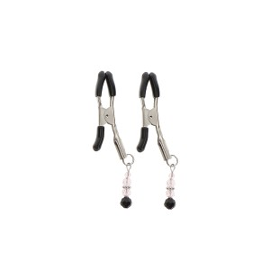 Non Adjustable Clamps Beads Silver