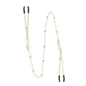 Tweezers Pearl & Deluxe Chain Gold