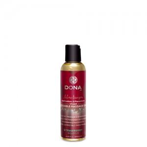 Dona Kissable Massage oil Strawberry