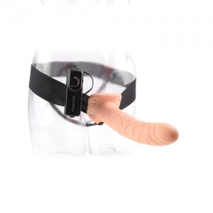 Holle Strap-On Harnas met Vibrator - 23 cm