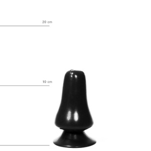 All Black Buttplug 12 cm - Zwart