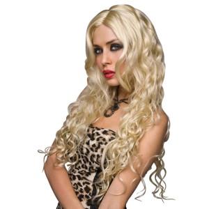 Pruik Jennifer - Platina Blond