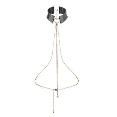 Bijoux Indiscrets - Desir Metallique Collar Zwart