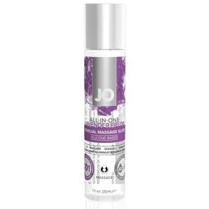 System JO - All-in-One Sensual Massage Glide Lavendel 30 ml