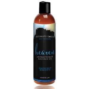 Intimate Earth - Massage Olie Heaven Hazelnoot Biscotti 120 ml