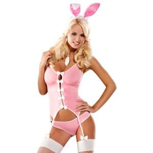 Obsessive - Bunny Suit Kostuum L/XL
