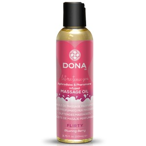 Dona - Scented Massage Olie Blushing Berry 110 ml