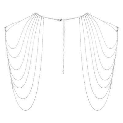 Bijoux Indiscrets - Magnifique Schouder Sieraad Zilver