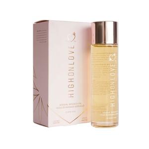 HighOnLove - Massage Olie Lychee Martini 120 ml