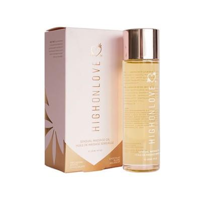 HighOnLove - Massage Olie Decadente Witte Chocolade 120 ml