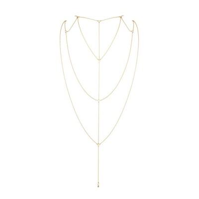 Bijoux Indiscrets - Magnifique Rug & Decollete Ketting Goud