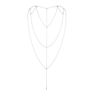 Bijoux Indiscrets - Magnifique Rug & Decollete Ketting Zilver