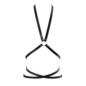 Bijoux Indiscrets - Maze Multi Position Body Harness Zwart