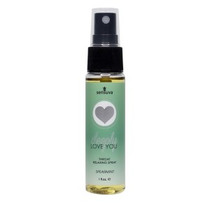 Sensuva - Deeply Love You Ontspannende Keel Spray Groene Munt
