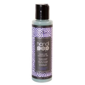 Sensuva - Handipop Handjob Massage Gel Bosbessen Muffin 125 ml